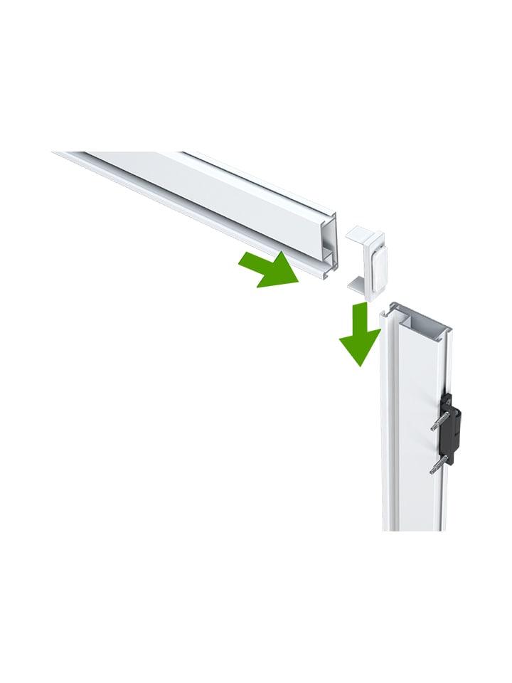 Mosquitera Puerta Abatible barra frontal