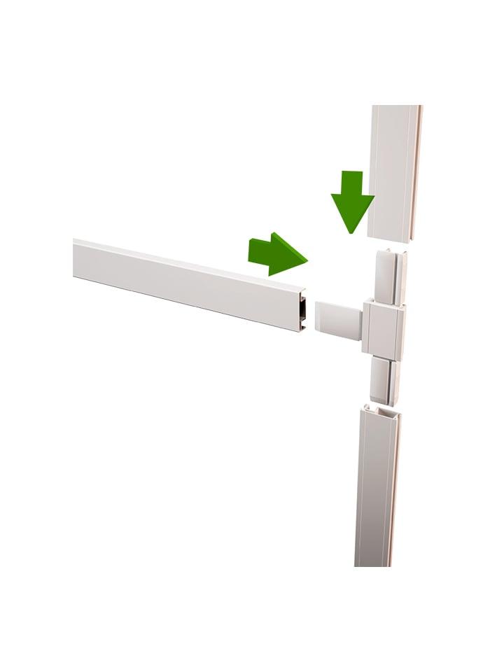 Mosquitera Puerta Abatible Partida detalle