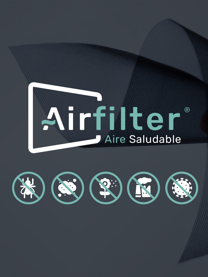 Mosquitera Enrollable Lateral AIRFILTER Icono