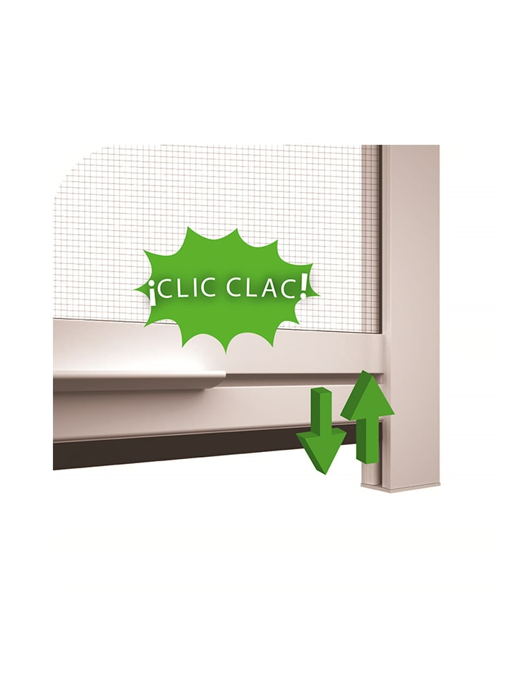 Mosquitera Enrollable ELITE sin tornillos Clic Clac